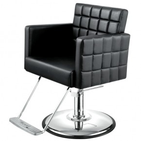 """MOSAIC"" Salon Styling Chair, Brown Salon Chair, Grey Salon Chair"