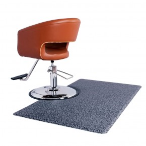 Square Salon Floor Mat for Round Base, Anti Fatigue Salon Mat, Salon Supplies